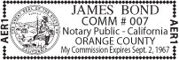 compact notary stamp impression