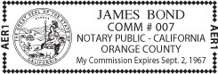 notary stamp impression